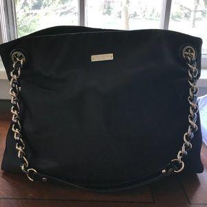 Kate spade Black Nylon Darya Chain Strap Handbag